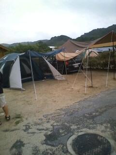 キャンプ当日